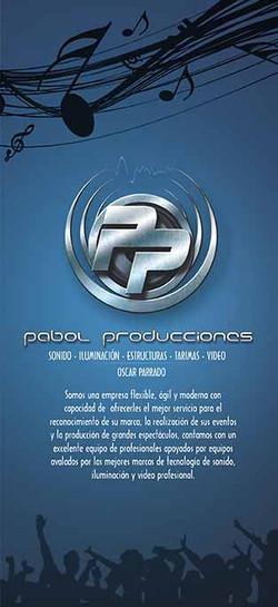 PLEGABLE PABOL PRODUCCIONES