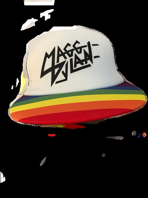 Magg Dylan Rainbow Trucker Hat