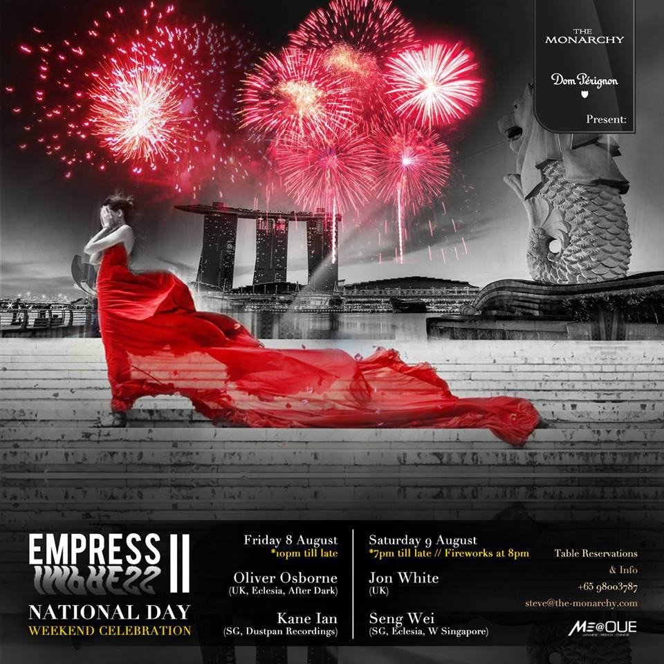 The Monarchy Presents Empress II - Featuring Oliver Osborne and Kane Ian