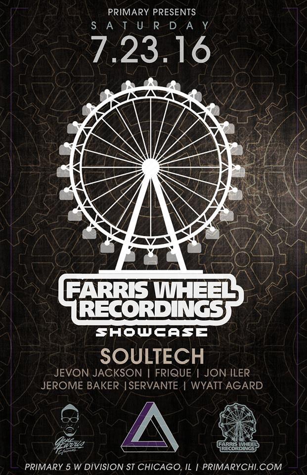 Jon Iler @ Farris Wheel Recordings Showcase, Chicago (23rd July)