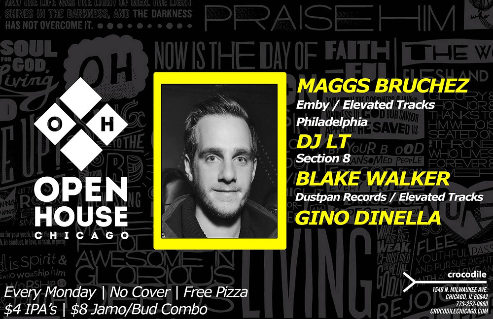 Blake Walker @ Open House Chicago, Crocodile (27th October)