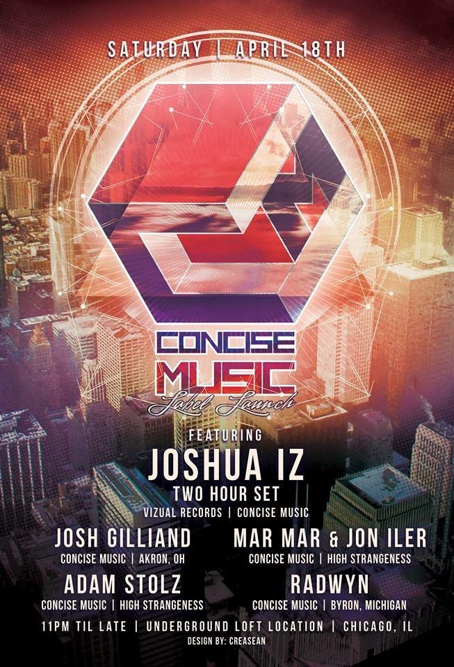 Jon Iler - Concise Music Label Launch (18th April)