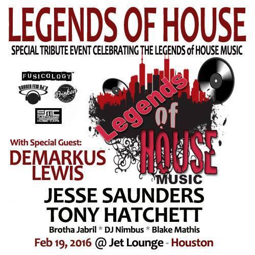 Demarkus Lewis @ Legends Of House