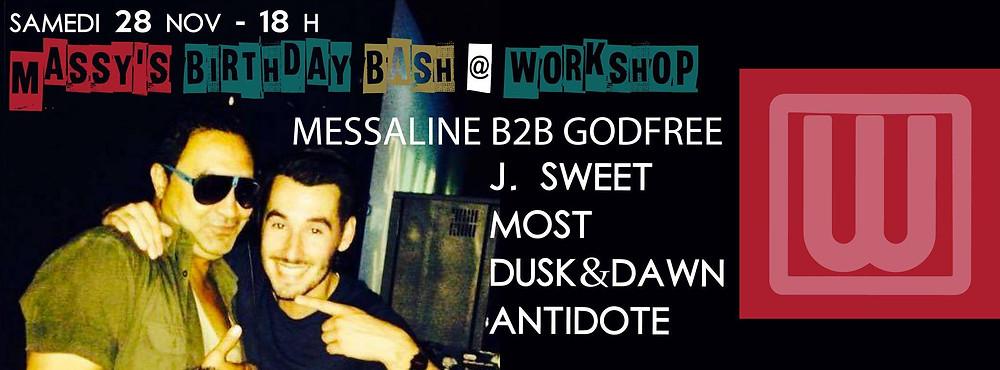 J Sweet @ Workshop, France