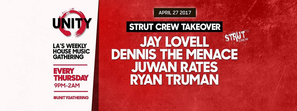 Unity Welcomes Strut Crew Takeover