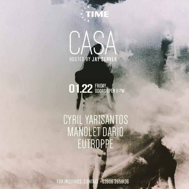 Cyril Yarisantos @ Time In Manila (22.01.15)
