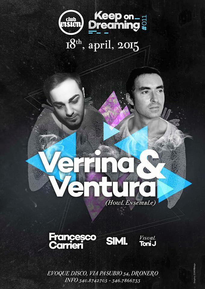 Francesco Carrieri @ Club Vision, Italy (18th April 2015)