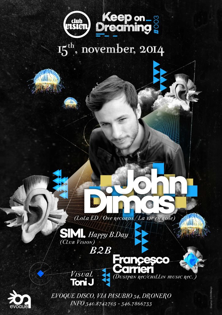 Francesco Carrieri @ Club Vison - Evoque Disco, Italy (Nov 15th)