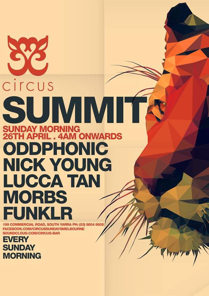 Oddphonic (Fergus & Craig Pringle) @ Summit, Melbourne Australia