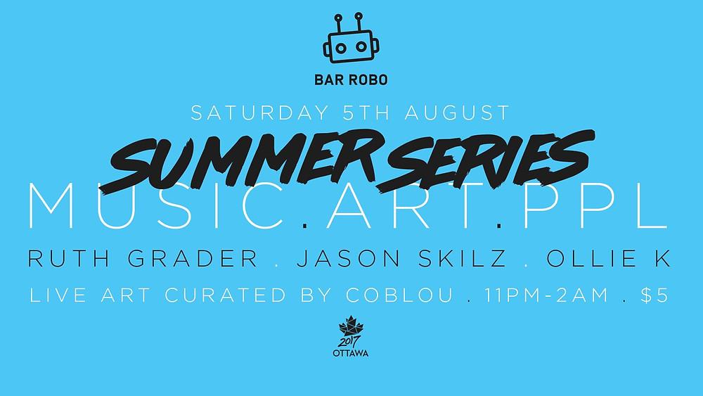 M.A.P Summer Series at Bar Robo