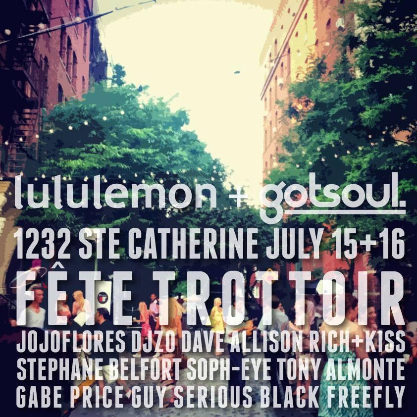 Dave Allison @ Lululemon + Got Soul, Montreal
