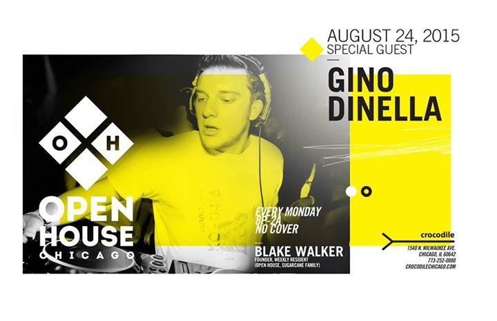 Blake Walker @ Open House - Crocodile, Chicago (24th August 2015) b
