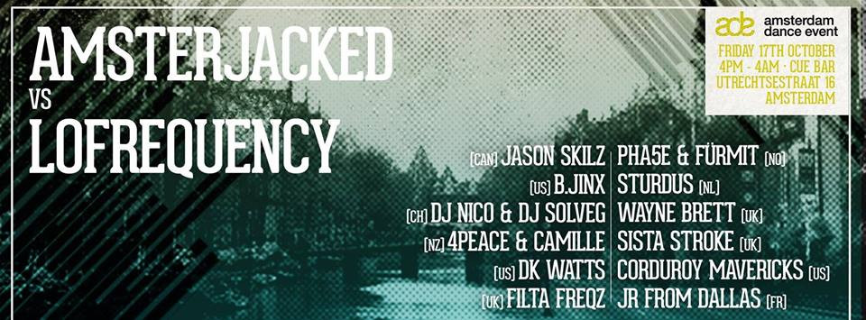 4Peace & Camille @ Amsterdam Dance Event - 17th October 2014