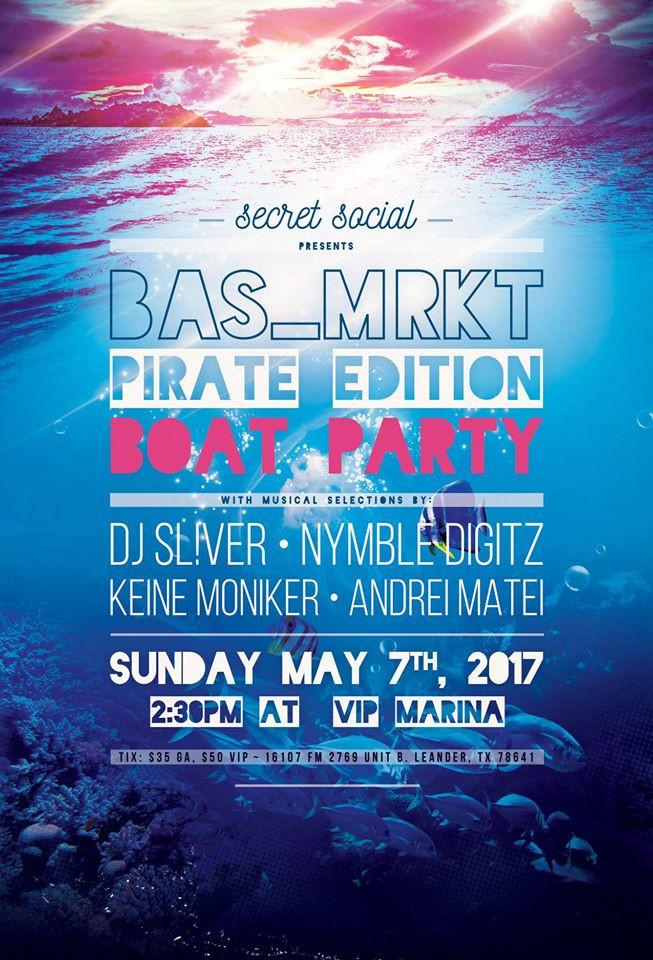 SecretSocial and Eaatx present BasMrkt - Pirate Edition