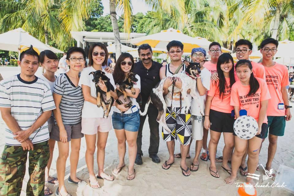 Kane Ian @ Animal Lovers League Adoption Drive - Tanjong Beach Club (Sept 27th) 19