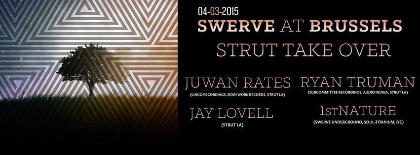 Juwan Rates & Ryan Truman @ Swerve - Brussels, Los Angeles