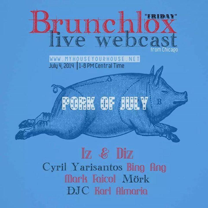 Cyril Yarisantos @ Brunchlox Live Webcast, Chicago
