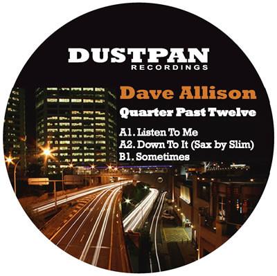 Dave Allison Quarter Past Twelve Dustpan