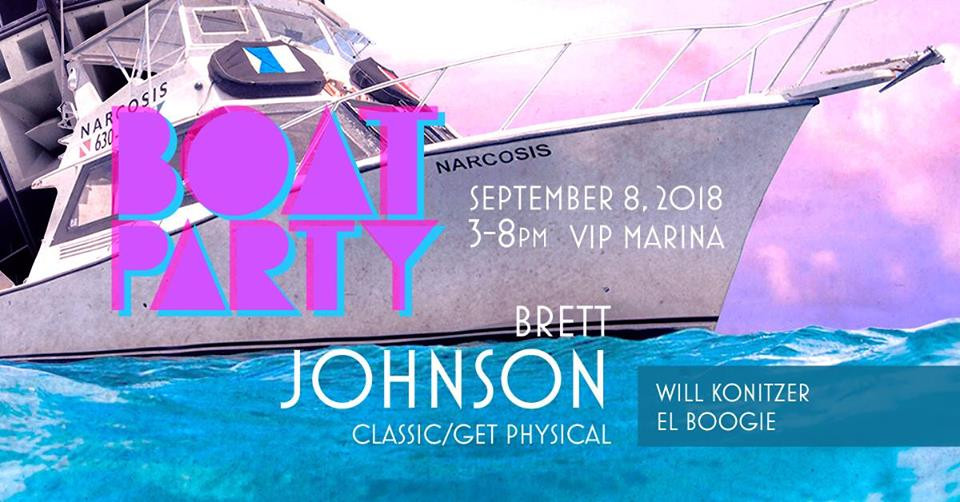 L Boogie   Brett Johnson   WIll Konitzer @ Boat Party, Austin Texas (Sep 8th)