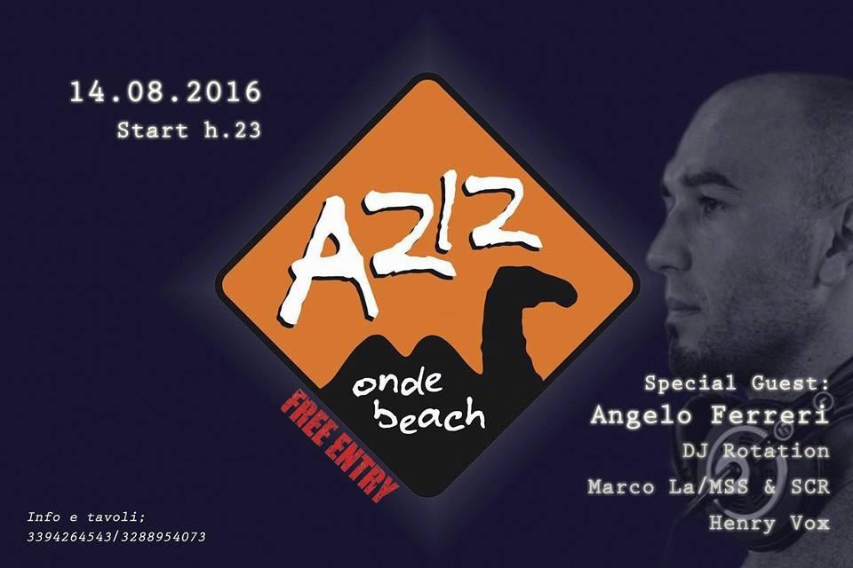 Angelo Ferreri @ Aziz Onde Beach, Italy
