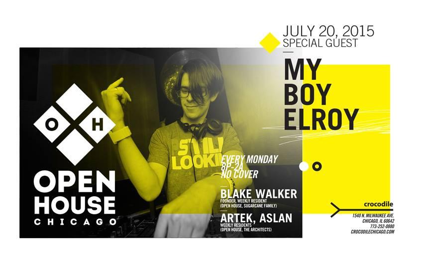 Blake Walker @ Open House, The Crocodile Lounge Chicago (21st July2015)