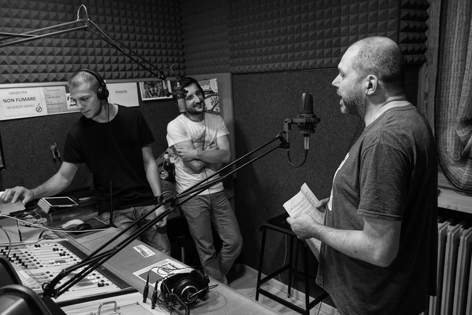 Francesco Carrieri @ TRS Radio Italy - Dustpan Recordings