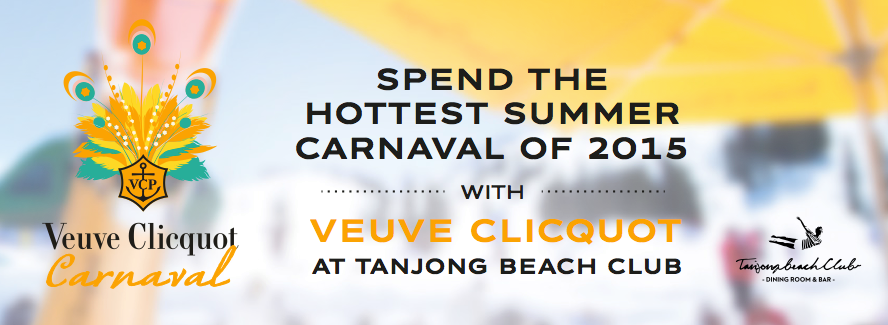 Kane Ian @ Veuve Clicquot Carnaval, Tanjong Beach Club (25th July 2015)
