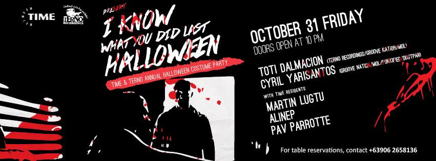 Cyril Yarisantos @ Time In Manila (Oct 31st 2014)