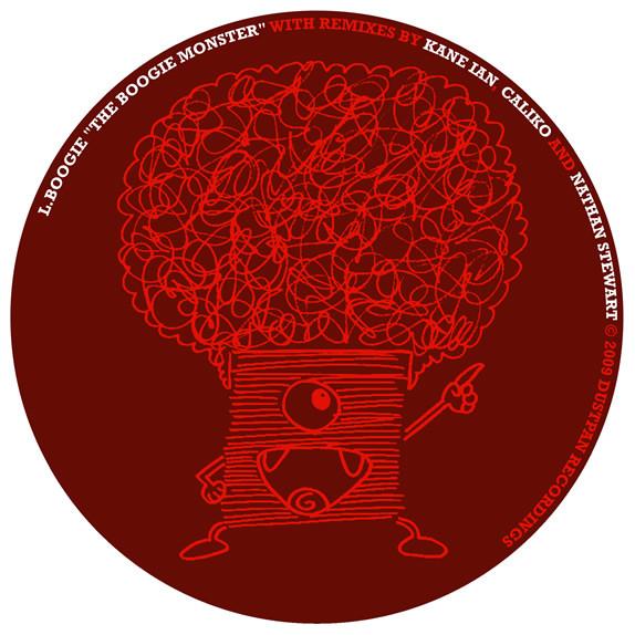 L Boogie - The Boogie Monster - Dustpan Recordings