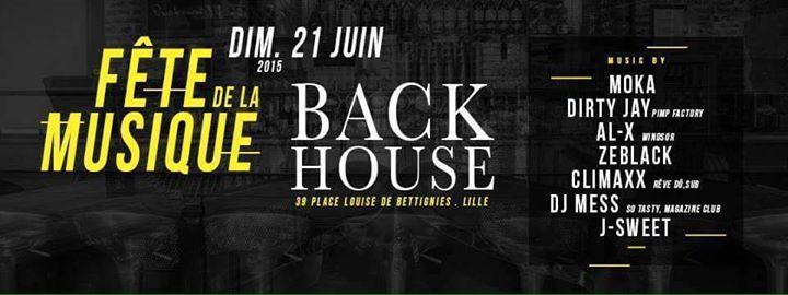 J Sweet @ Back House, Lille France (June 21st 2015)