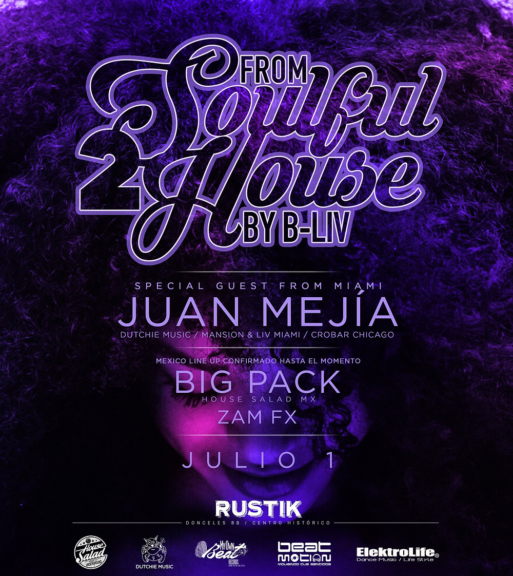 Big Pack @ From Soulful 2 House, Mexico City