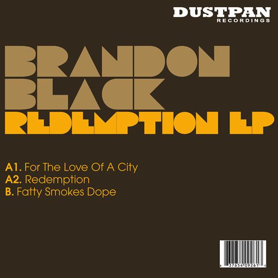 Brandon Black - Redemption EP - Dustpan Recordings