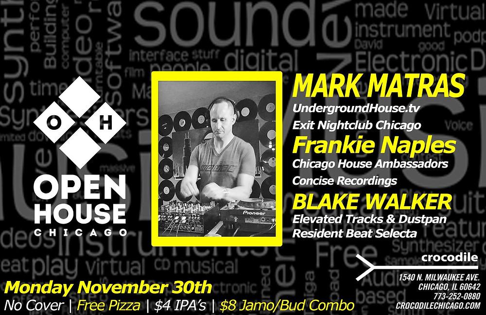 Blake Walker @ Open House, Chicago