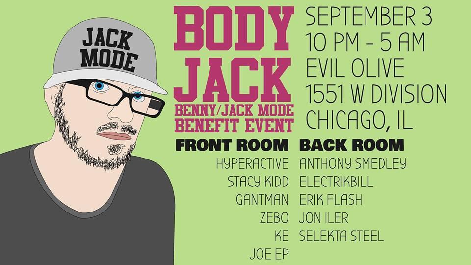Jon Iler @ Body jack -Evil Olive, Chicago (Sept 3rd)
