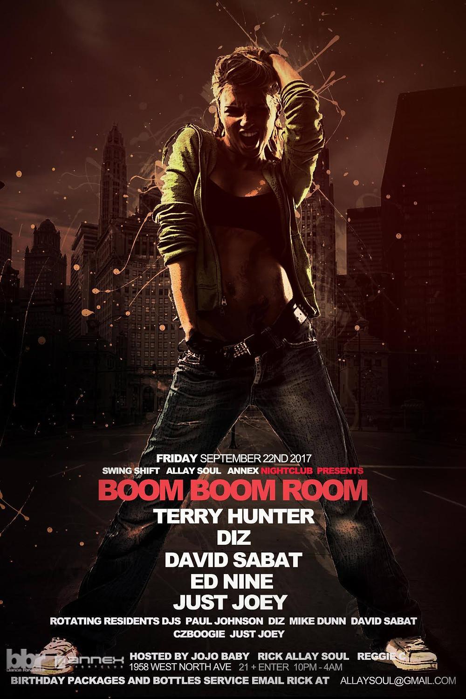 Ed Nine @ Boom Boom Room, Annex Night Club, Chicago (Sept. 22nd)