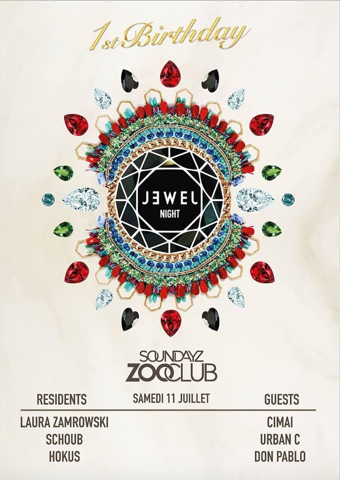 Hokus @ Jewel Nights 1st Birthday - Zoo Club, Belgium (July 11th)