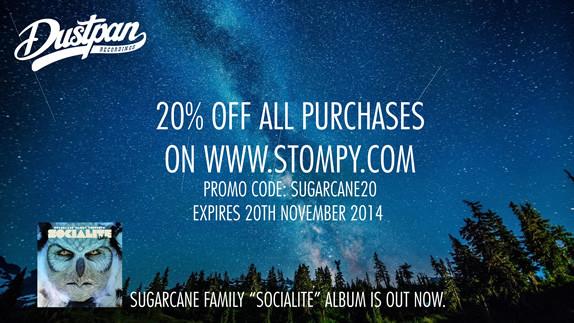 Dustpan Recordings Stompy Promo Sugarcane Family November 2014
