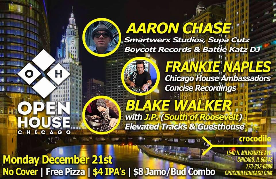 Blake Walker @ Open House, Chicago (December 21st)