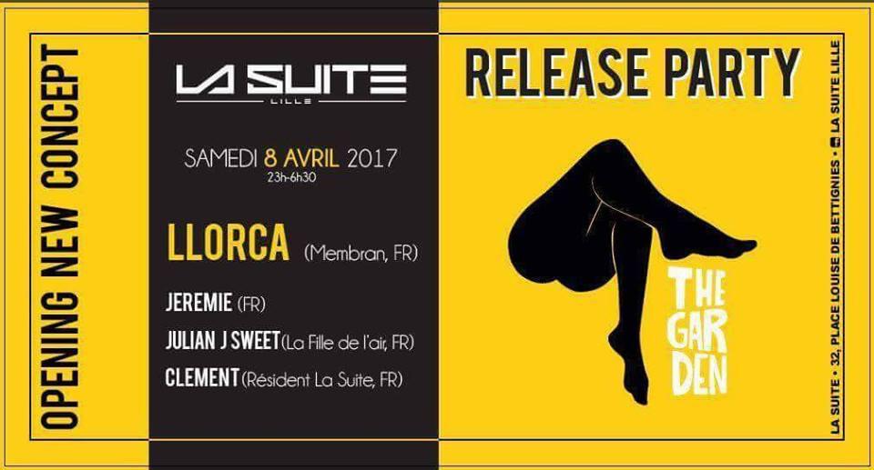 J Sweet @ La Suite, Lille France