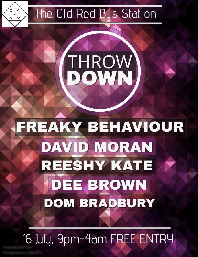 Freaky Behaviour @ The Old Bus Station, Leeds (16th July)