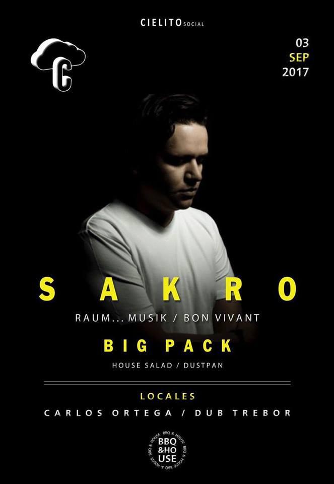 BBQ & House Sakro (Bon Vivant) Big Pack (House Salad)