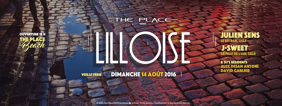 J Sweet @ The Place To Beach, France (14th August)