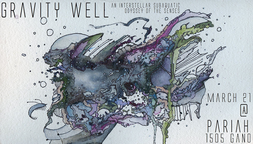 The Guild presents || Gravity Well: An Interstellar Subaquatic Odyssey of the Senses ft. Demarkus Lewis, Cygnus, & Red Eye