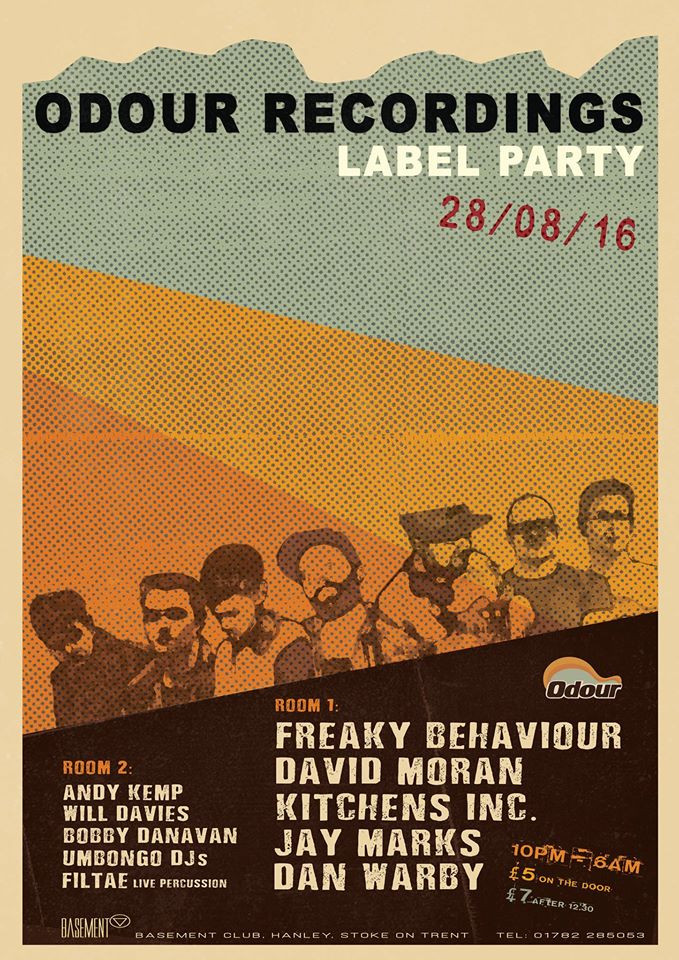 Freaky Behaviour @ Odour Recordings Label Party, UK (28th August)