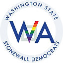 Logo of the Washington State Stonewall Democats