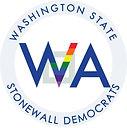 Logo of the Washington State Stonewall Democats