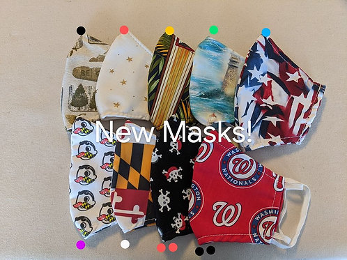 Limited Edition Reusable Facemasks