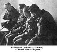 padre-pio-meeting-american-soldiers-after-world-war II-and telling lei-fanning-that-he-would-become-a-priest-pamphlets-to-inspire-pamphlets-to-inspire