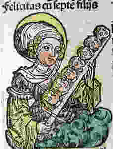Saint Felicitas of Rome| Pamphlets To inspire