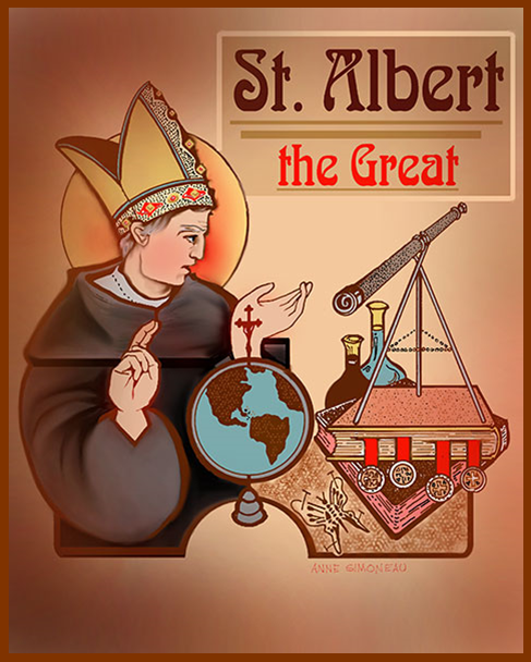 Saint Albert the Great  Pamphlets to Inspire